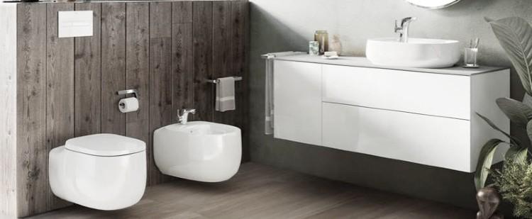 reformas de baños pequeños inodoros suspendidos