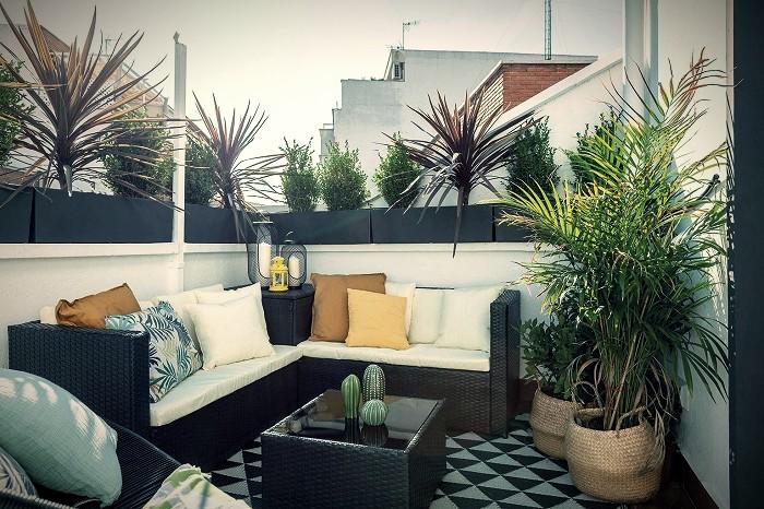 Tipos de terrazas