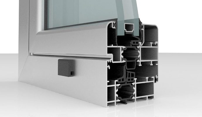 Marcos de aluminio con rotura de puente térmico